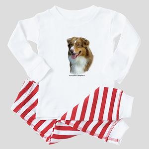 Australian Shepherd 9K4D-16 Baby Pajamas