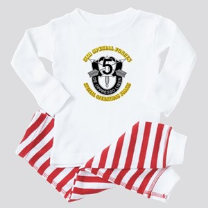 5th Special Forces - DUI Baby Pajamas