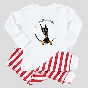 Doberman IAAM Baby Pajamas