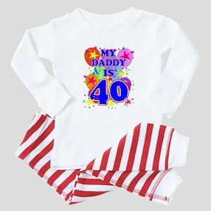 DADDY BIRTHDAY Baby Pajamas