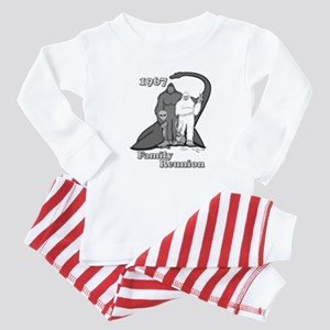 1967 Bigfoot Family Reunion Baby Pajamas