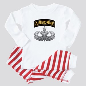 Senior Airborne Wings with Ai Baby Pajamas