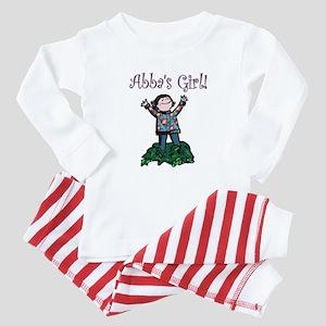 Abba's Girl! Baby Pajamas