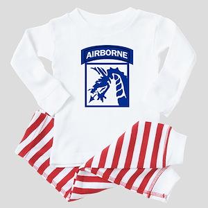 18th Army Airborne Baby Pajamas