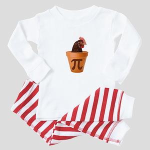 Chicken Pot Pi (and I dont care) Baby Pajamas