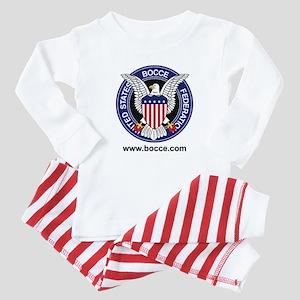 USBF LOGO1 Baby Pajamas