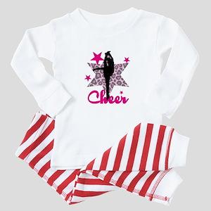 Pink Cheerleader Baby Pajamas