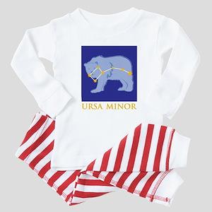 Ursa Minor Constellation Baby Pajamas