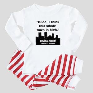 High City Baby Pajamas