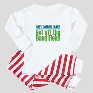 Marching Band Field Baby Pajamas