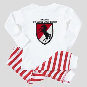 11TH ARMORED CAVALRY REGIMENT Baby Pajamas