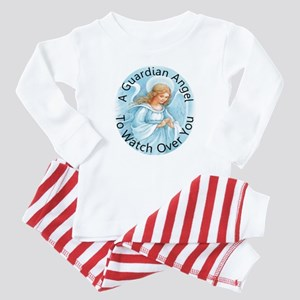A guardian angel to watch ove Baby Pajamas