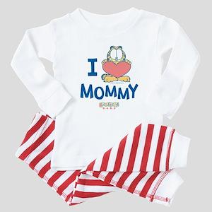 Baby GARFIELD, Heart Mommy, Baby Pajamas