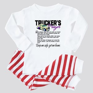 Trucker's Prayer Baby Pajamas