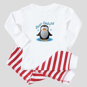Just Chilin Baby Pajamas