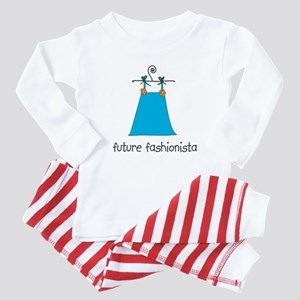 Future Fashionista Baby Pajamas