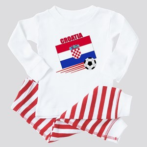 Croatia Soccer Team Baby Pajamas