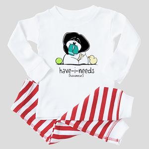 Have-i-Needs Havanese Baby Pajamas