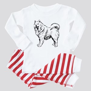 Samoyed Baby Pajamas
