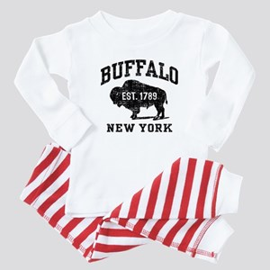 Buffalo New York Baby Pajamas