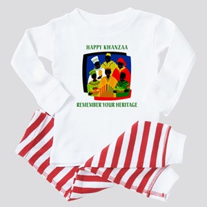 Happy Kwanzaa Baby Pajamas