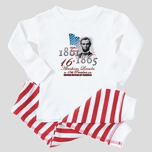 16th President - Baby Pajamas