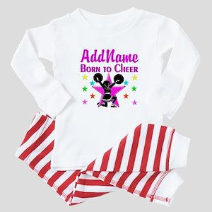 BORN TO CHEER Baby Pajamas