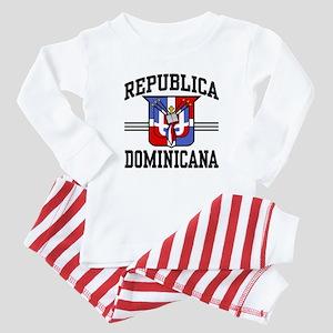 Republica Dominicana Baby Pajamas