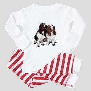 Basset Hounds Baby Pajamas