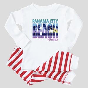 Panama City Beach Baby Pajamas