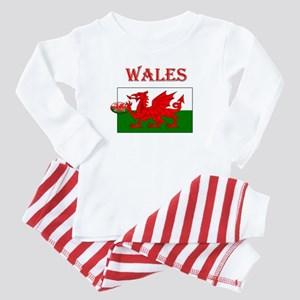 Wales Rugby Baby Pajamas