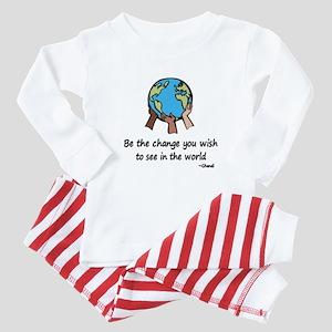 Be the Change Baby Pajamas