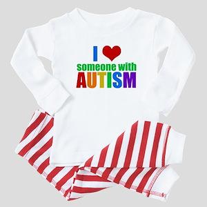 Autism Love Baby Pajamas