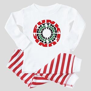Funk Rhythm Funk Funk Rhythm Baby Pajamas