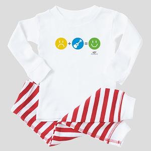 Happy Ukulele Baby Pajamas