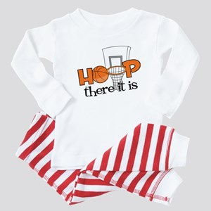 Hoop There It Is Baby Pajamas