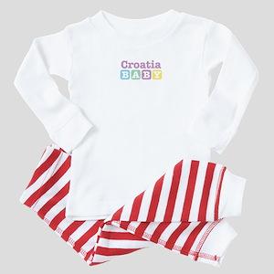 Croatia Baby Baby Pajamas