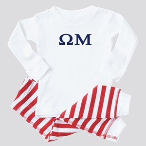 Omega Mu Homecoming Baby Pajamas