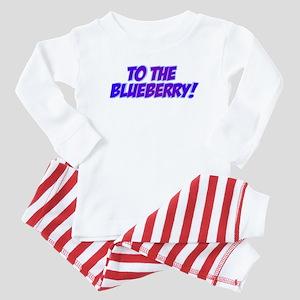 Psych, Blueberry! Baby Pajamas