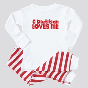 A Dietitian Loves Me Baby Pajamas