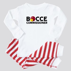 Bocce Commisioner Baby Pajamas