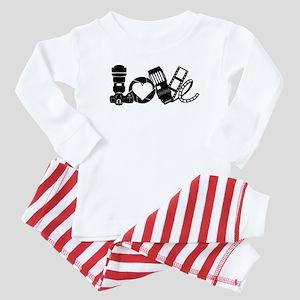 Camera Love Baby Pajamas