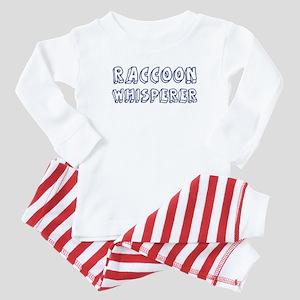 Raccoon Whisperer Baby Pajamas