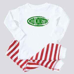Mud Monster Baby Pajamas