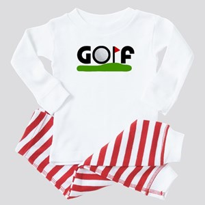 'Golf' Baby Pajamas