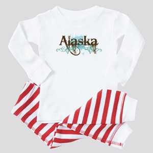 ALASKA grunge Baby Pajamas