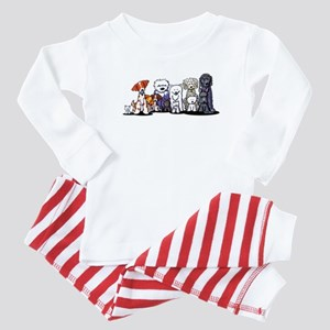 Usual Suspects Baby Pajamas