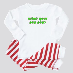 Who's Your Pep Pep? Baby Pajamas