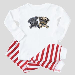 Pug Pals Baby Pajamas
