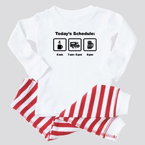 RV Enthusiast Baby Pajamas